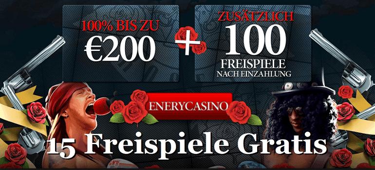 Energy Casino Freispiele Gratis Bonus