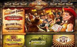 Highnoon Casino €/$/£60 No Deposit Bonus