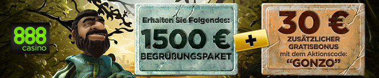 888 Gonzo Bonus