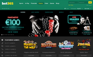 Bet365 Top Casino with fastes Payouts