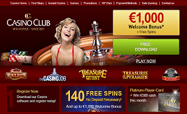 Casino Club No Deposit Free Spins