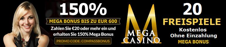 Mega Casino Freispiele
