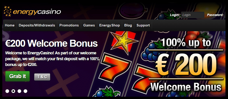 Energy Casino Slots