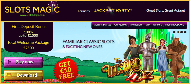 Slots Magic Free Bonus
