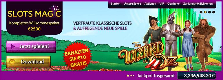 Slots Magic Freispiele kostenlos