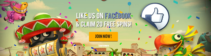 Netent, Free Spins, facebook