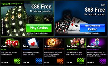 888 Casino Review With Bonus Offers