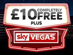 Sky Vegas, No Deposit, Free Bonus, UK Casino, Free UK Casino, No Deposit