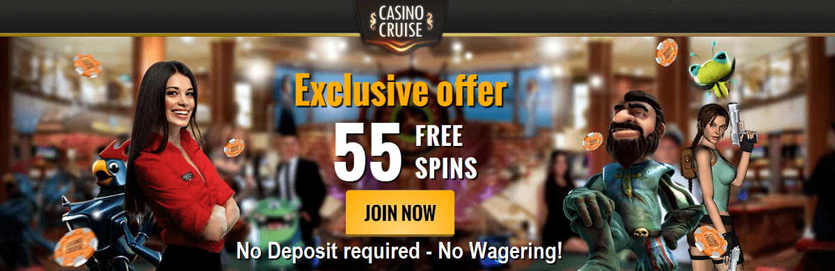Casino Cruise 55 Free Spins