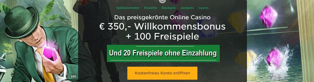 Mr Green 20 Gratis Freispiele Gratis