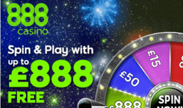 888 Casino Spin and Win