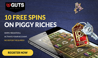 CASH PRIZE DRAW IN GUTS CASINO