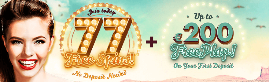 77 free spins 777 casino