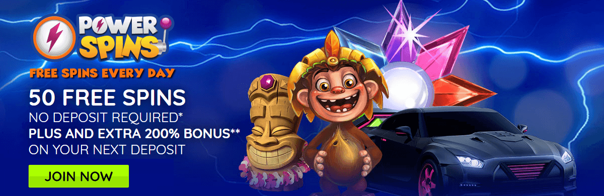 Powerspins UK Free Spins Casino