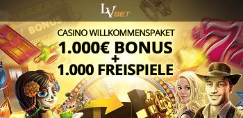 LVbet Casino Novoline Bonus