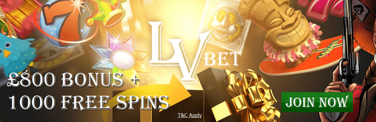 LVbet UK Welcome Bonus