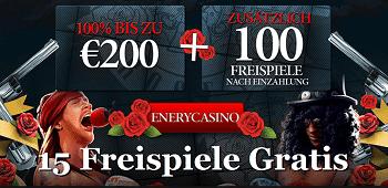 Energy Casino Freispiele DE Gratis Bonus
