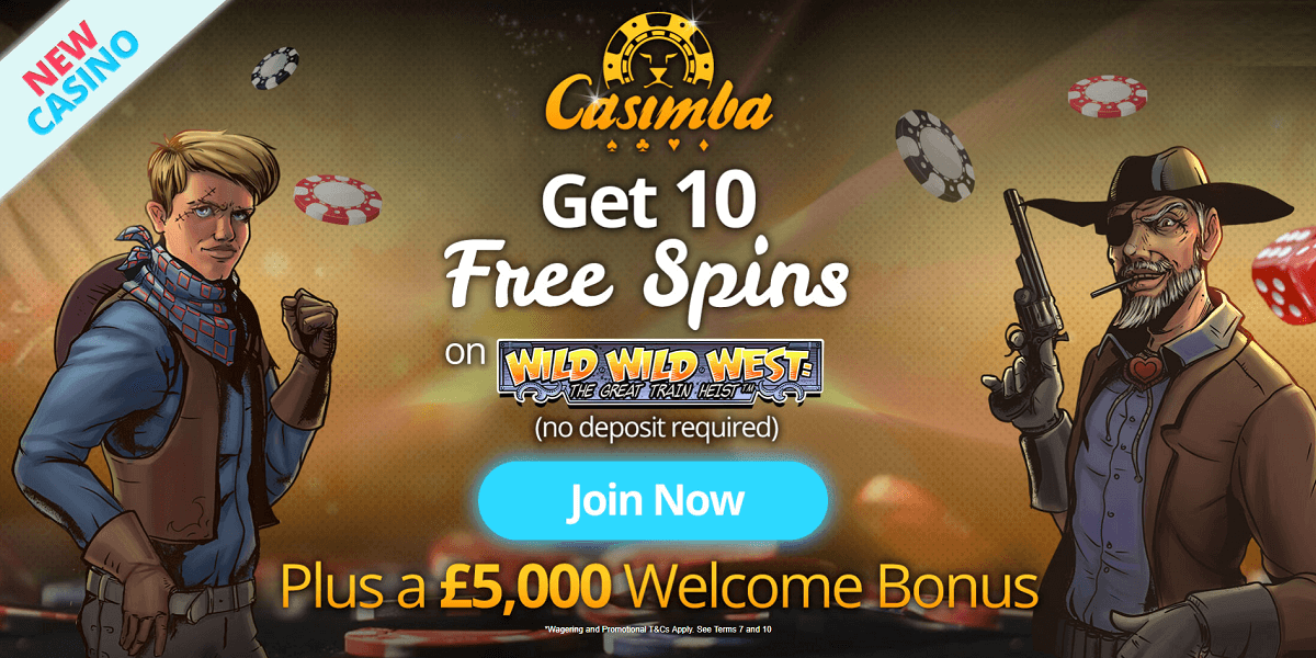 Casimba UK Welcome Bonus