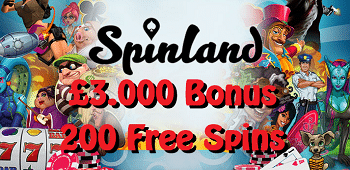 Spinland Casino UK Bonus
