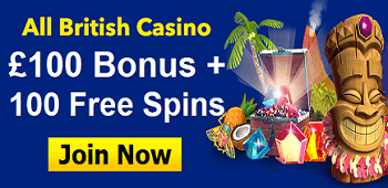 All British Casino Free Spins Bonus