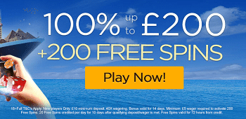 Casino Cruise UK New Player Free Spins