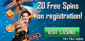 Casino.com UK Casino No Deposit Free Spins