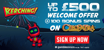 Kerching Casino UK Bonus