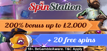 SpinStation Casino UK Bonus Offer