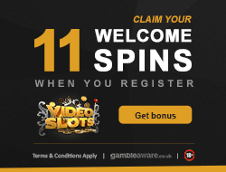 Videoslots Welcome Spins Bonus