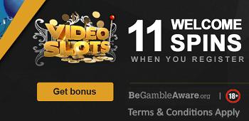 Videoslots GBP Bonus Extra Spins
