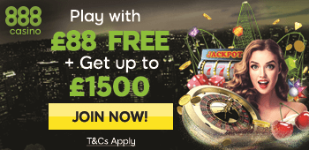 888 Casino Free 88 Bonus