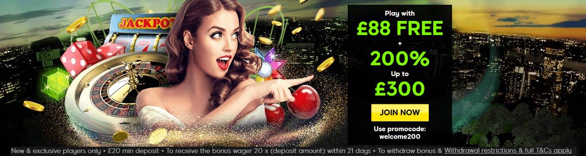 888 Casino UK Free 88