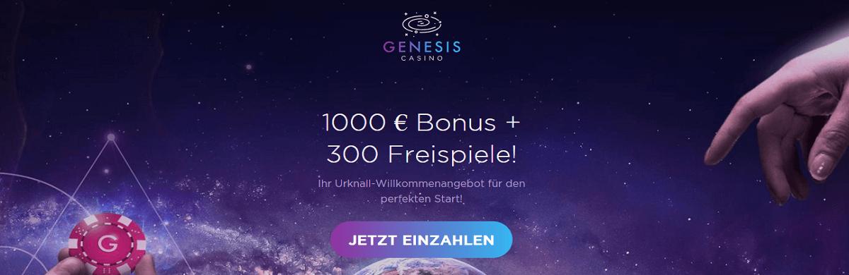 Genesis Casino Gratis Bonus