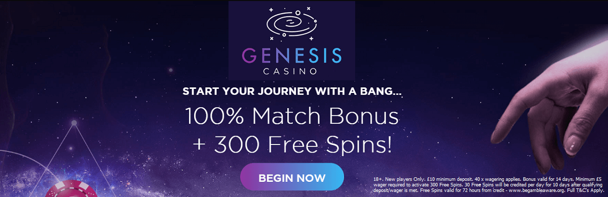 Gamomat in Genesis Casino UK