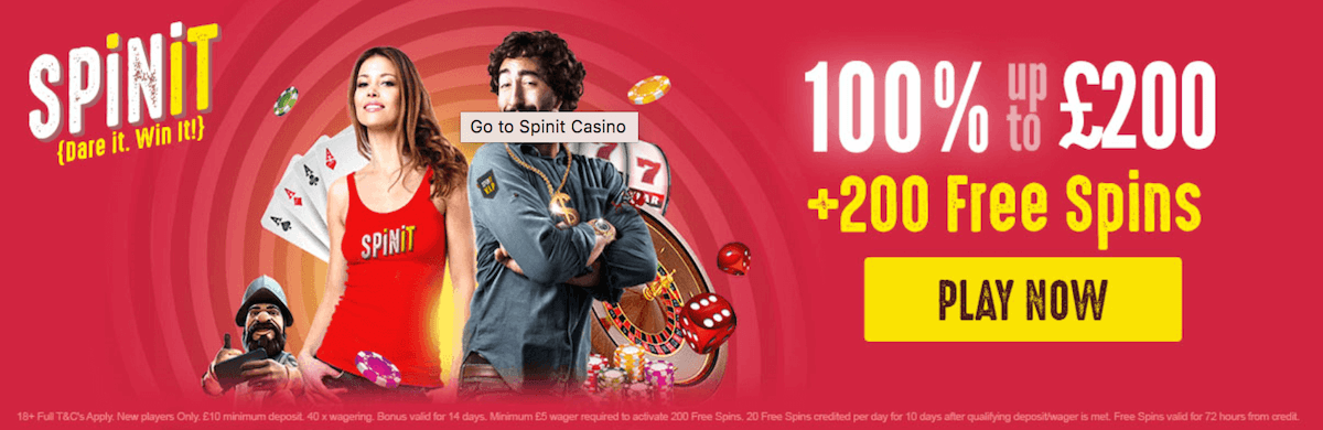 Yggdrasil Gaming Spinit Casino