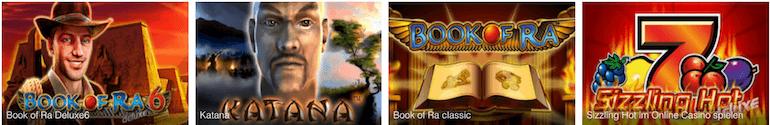Novoline Spiele Book of Ra