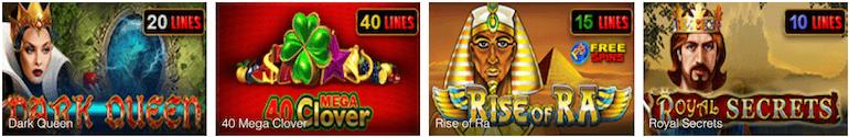 EGT Spiele Four Crowns Casino