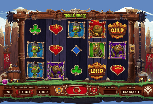 Trolls Bridges Online Slot