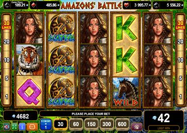 Amazons Battle Online Slot