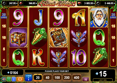 Book of Magic Online Slot