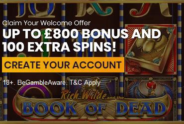 Casiplay Casino Welcome Bonus UK