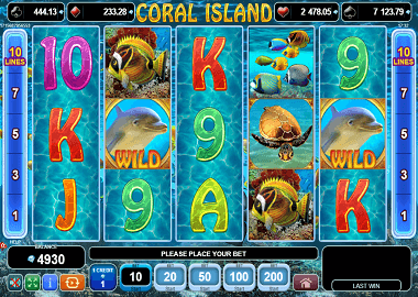 Coral Island Online Slot