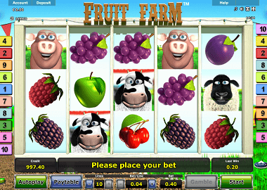 Fruit Farm Online Slot