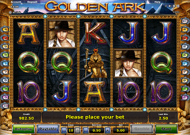 Golden Ark Online Slot