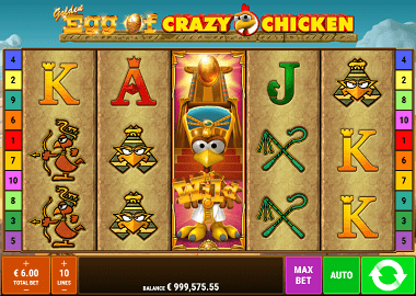 Golden Egg of Moorhuhn Online Slot