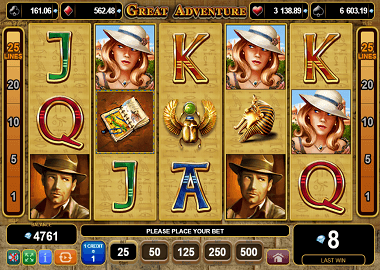 Great Adventure Online Slot
