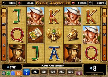 Great Adventure Online Slot