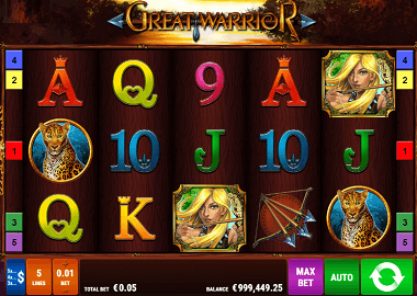 Great Warrior Online Slot
