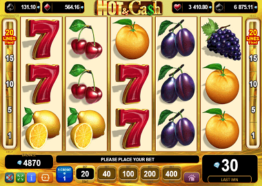 Hot & Cash Online Slot