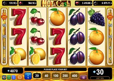 Hot & Cash Online Slot
